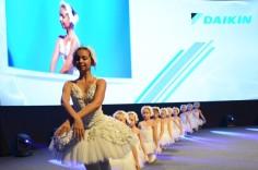 Vystoupení Malých labutí na výroční akci Daikin