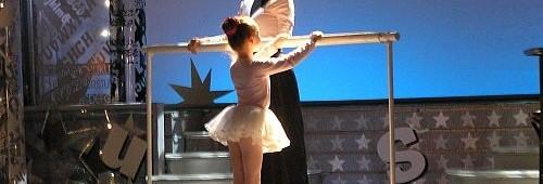 natáčení baletu